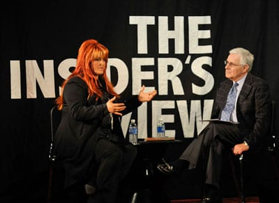 """Belmont's Director of Development and Major Gifts Harry Chapman and Wynonna (Harry hosts """"The Insider's View"""" interview series photo: J. Michael Krouskop/Belmont University"""
