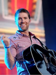 Josh Turner performs at the VAULT Concert Stage at LP Field in Downtown Nashville June 13. Photo: John Russell