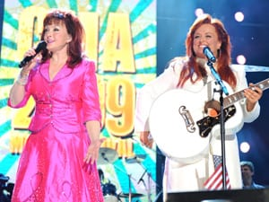The Judds perform at the VAULT Concert Stage at LP Field in Downtown Nashville June 13. Photo: John Russell