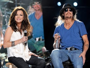 Martina McBride and Kid Rock perform at the VAULT Concert Stage at LP Field in Downtown Nashville June 12. Photo: John Russell