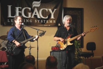 """Orleans, the American music masters with hits Still the One, Dance with Me and Love Takes Time, shared their music and entertainment expertise with the captivated crowd at Legacy Days during NAMM.  """"Larry Hoppen. at the Radisson Hotel in Nashville on Saturday, July 18th.  The two remaining original members Larry and Lance Hoppen were joined alongside their drummer and former Elton John band member Charlie Morgan.  Orleans performed their classic hits and offered a first hand perspective on developing and surviving a career in the entertainment industry"""