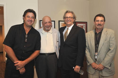 Vince Gill, Fred Foster, Kyle Young and David Conrad - photo by Donn Jones.