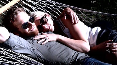 Holly Williams and fiance Coleman