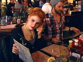 Paramore's Hayley Williams and Jeremy Davis  Photo: Akshay Bhansali/ MTV News