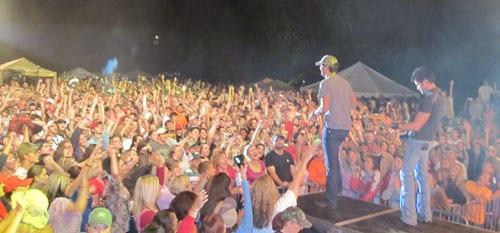 Bryan at inagural Farm Tour show