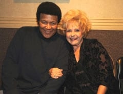 Chubby Checker (L) and Brenda Lee (R)