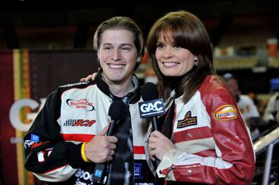 Pictured: Jason Michael Carroll with GAC's Susanne Alexander