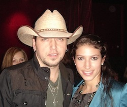 Aldean with Isabel Ross