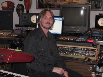 Todd Cerney In His Home Recording Studio