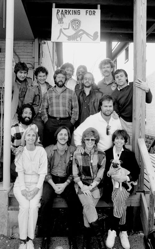 Pictured In 1987 Cerney Front Row Second From Left At The No 1 Party For Ill Still Be Loving You Recorded By Restless Heart And Co Written
