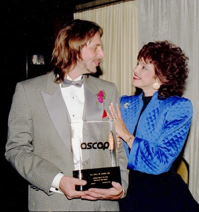 Todd Cerney And Wife Kip Kirby On The Night He Won ASCAP Song Of Year For Ill Still Be Loving You