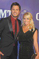 Luke Bryan with wife Caroline