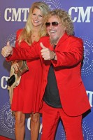 Sammy Hagar with wife Kari