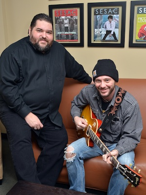 Pictured (L-R): SESAC's Tim Fink and Boscoe France