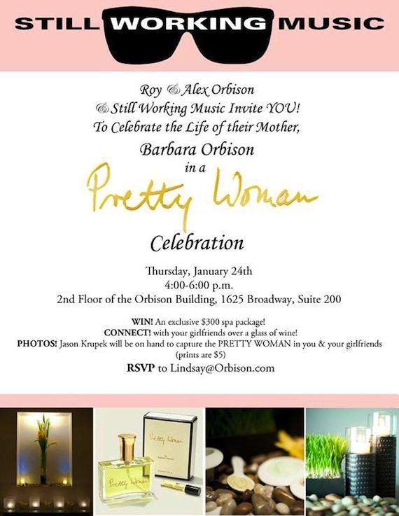 Pretty Woman Event Invitation