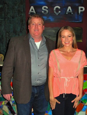 Pictured (L-R): ASCAP's Mike Sistad and Jewel