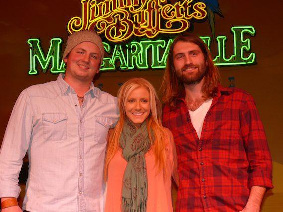 Pictured (L-R): Chase McGill, Kalisa Ewing, Ryan Hurd.