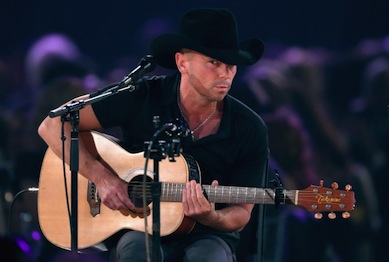 Kenny Chesney performs at the MusiCares tribute to Bruce Springsteen. Photo: Mark Davis/WireImage.com