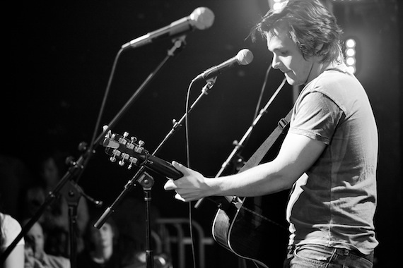Charlie Worsham performs at the Country Music Is Love Concert. Photo Credit: Claudia Kay Photos