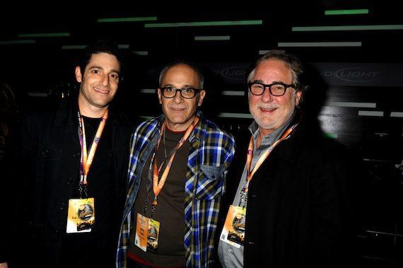 NS2's Darin Lashinsky, Frank Productions' Larry Frank, CAA's Rod Essig.