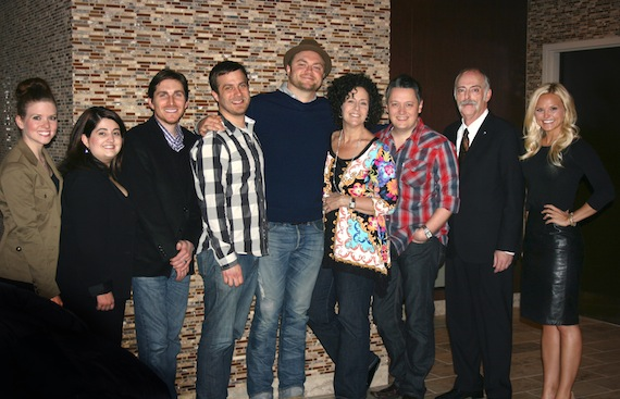 Pictured (L-R): Sarah McGrady, SOLID President, Angela Lampton, Sunfire Entertainment, Moderator of the evening, John Zarling, Big Machine Label Group, Kent Wolfenbarger, SOLID Education Chair, Jordan Pettit, Warner Music Nashville, Neda Tobin, Southern Ground, Anthony Allen, WSIX, Wade Jessen, Billboard, Brittany Adkins Schaffer, SOLID Education Co-chair