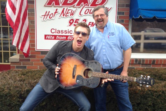 "Tyler Dean recently paid a visit to KDKD to promote his latest single, ""I Wanna Wake Up With You,"" with MD, Dave Young."