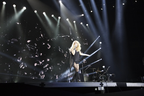 Carrie Underwood performs at the C2C: Country To Country Festival at the 02 Arena.