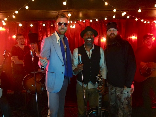Pictured (L-R): Charles Kelley, Darius Rucker and Jase Robertson