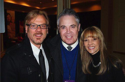 Pictured (L-R): Rodeowave's Phil Vassar, Blair Garner, Teddi Bonadies.