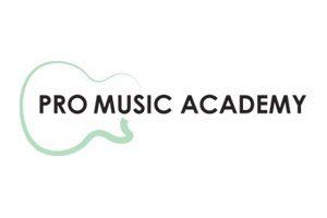 Pro Music Academy logo black