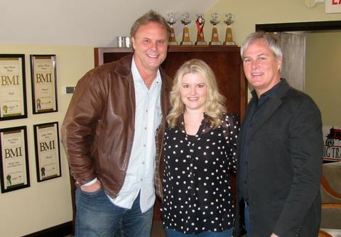 Pictured (L-R): Scott Hendricks, Rachel Proctor and Clay Myers