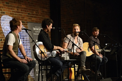 Listening Room Emerson Hart Kevin Griffin Better than ezra charles kelley dave barnes111111