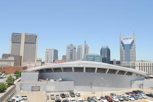 Music City Center spaceship