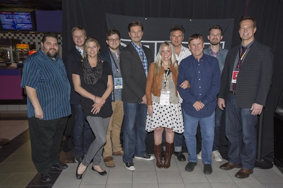 Pictured (left to right): SESAC's Tim Fink, Trygge Toven, SESAC's Shannan Hatch, Chase Miscenheimer, Steven Vincent, Tyler Middleton, Russell Ziecker, SESAC's John Mullins, Matt Mugford and moderator Jim Scherer. Photo: Ed Rode