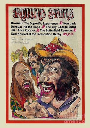 """Dr. Hook on the cover of """"Rolling Stone."""""""