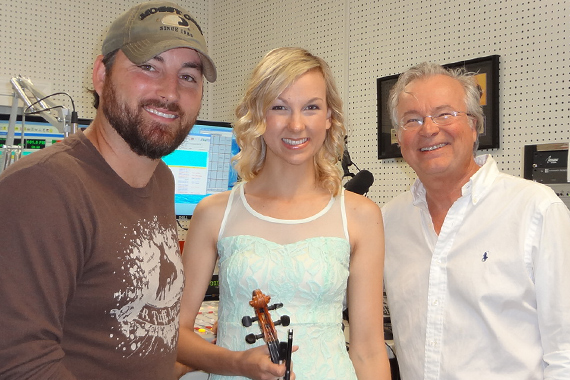 """Kari & Billy spent yesterday morning visiting about their new single, """"Play Me A Fiddle Song,"""" with WDKN's Dale Turner in Dickson, TN."""