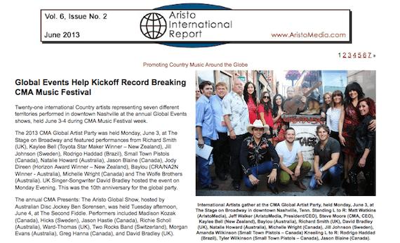 aristomedia 2013 report