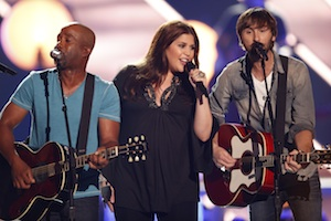 Darius Rucker and Lady Antebellum