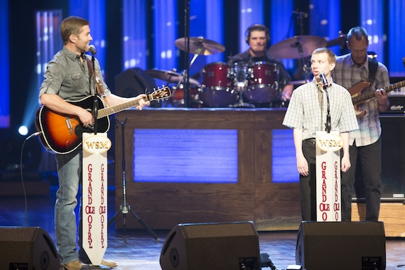 Pictured (L-R): Josh Turner and Logan Blade