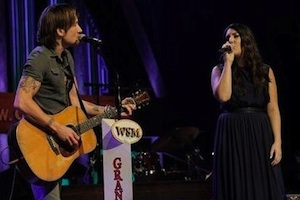 Pictured (L-R): Keith Urban, Kree Harrison