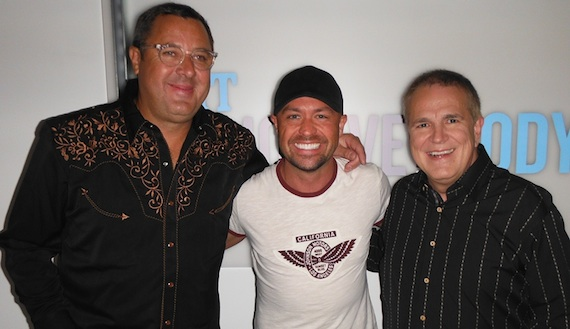 Pictured (L-R): Vince Gill, Cody Alan, Paul Franklin