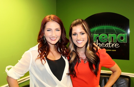 Pictured (L-R): Katie Armiger, Cassadee Pope