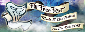 fly free festival logo