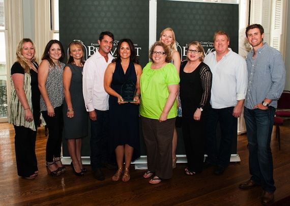 Pictured (L-R): ASCAP's Meghan Muse, Alison Toczylowski, Kele Currier, Martin, Phelan, Mary Self, Anna Maki, Suzanne Lee, Mike Sistad and Ryan Beuschel