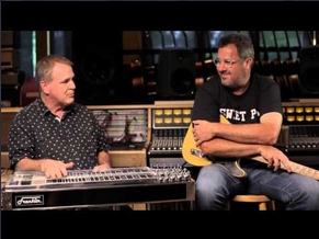 Paul Franklin and Vince Gill