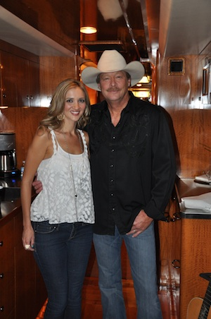 Alan jackson dedicated i'd love you all over again to wife denise
