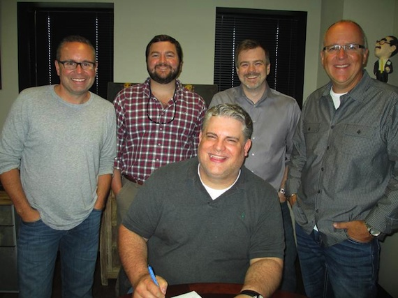 Pictured (Front row): Jason Matthews. Pictured (Back row): Steve Markland (W/C), Blain Rhodes (W/C), Ben Vaughn (W/C), Phil May (W/C).