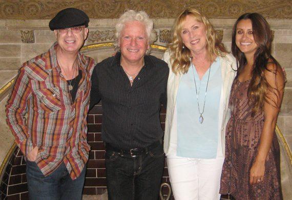 Pictured (L-R): MSO President Mitch Schneider, Billy Block, MSO Nashville Director Lyndie Wenner and MSO Account Executive Angela Villanueva.