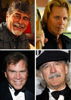 Clockwise from Top Left: Randy Owen, Jeffrey Steele, Will Jennings and Layng Martine, Jr.