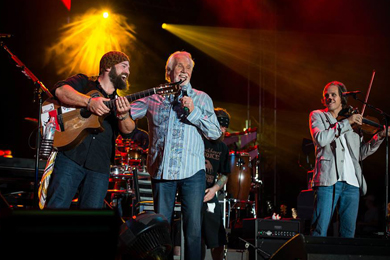 Kenny Rogers performs Friday (Sept. 27) with Zac Brown Band at Nashville's Southern Ground Fest.